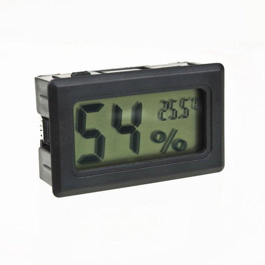 Termometro Y Humedad Digital / Memoria del valor de medición max & min.